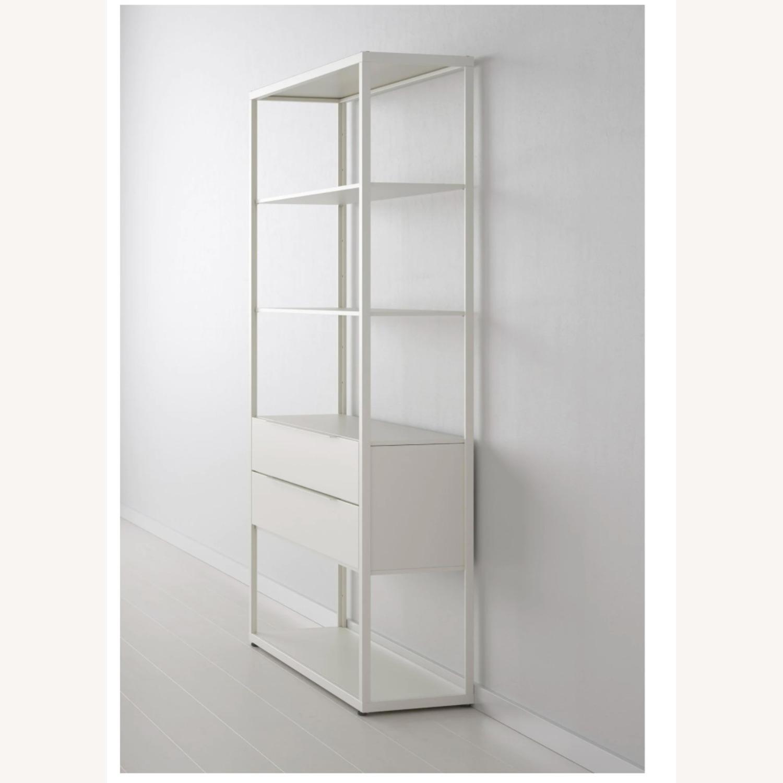 IKEA White Steel Bookcase - image-2