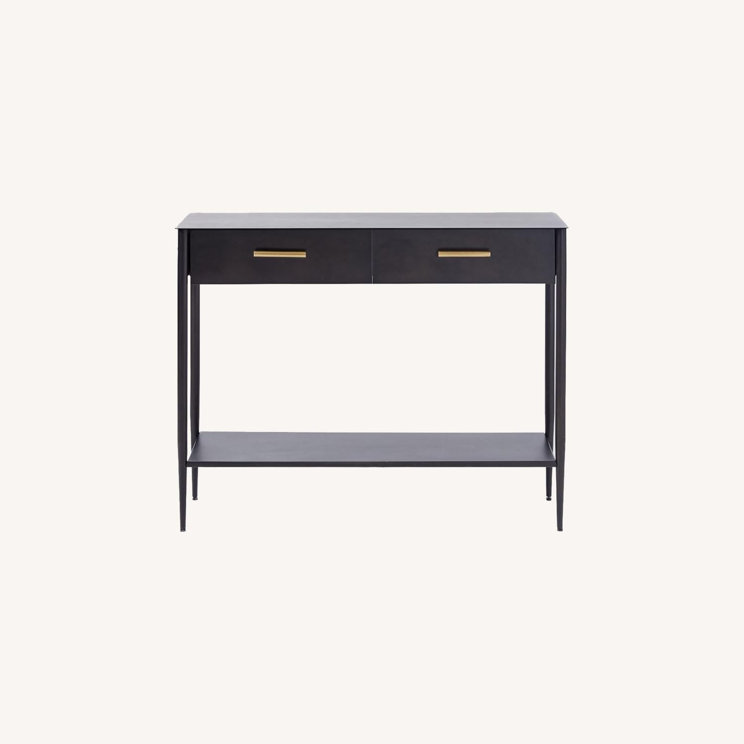 West Elm Metalwork Console Table - image-0