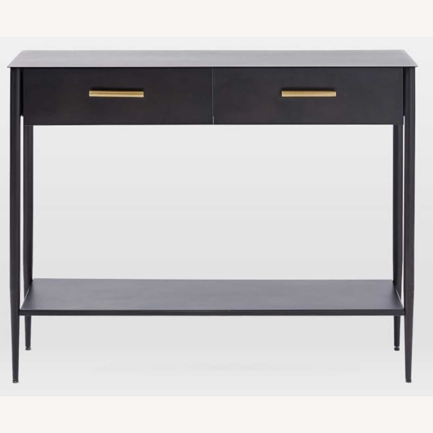 West Elm Metalwork Console Table - image-4