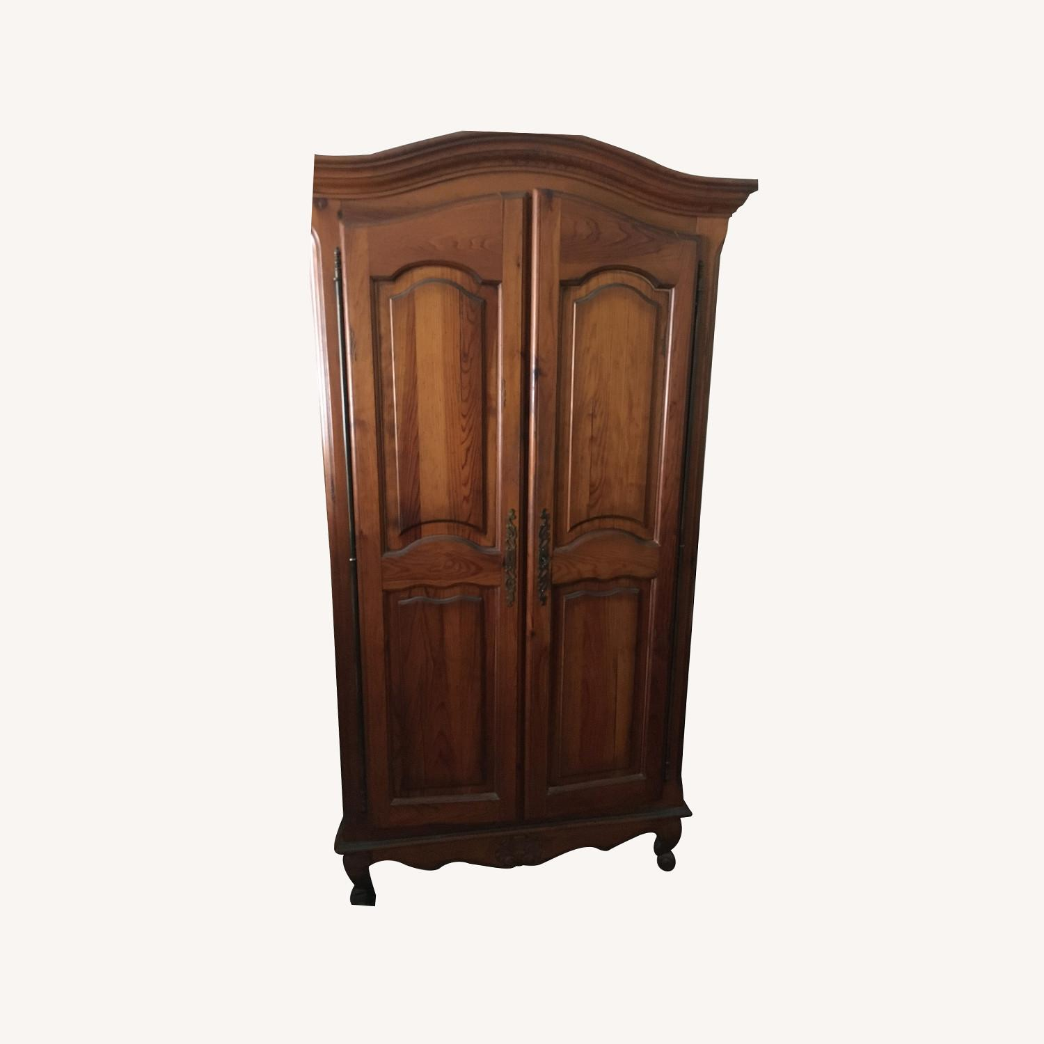 ABC Carpet and Home Wooden Armoire - image-0