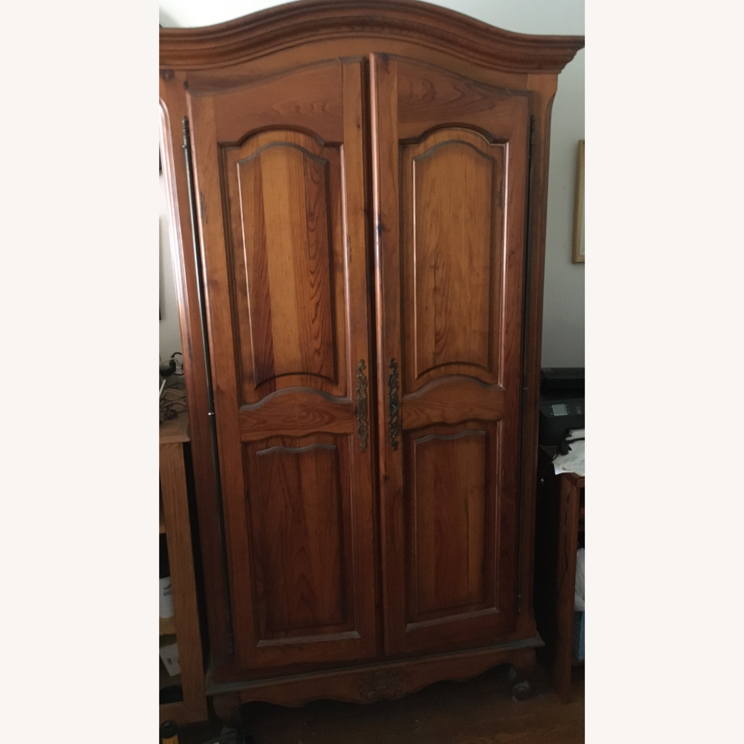 ABC Carpet and Home Wooden Armoire - image-1
