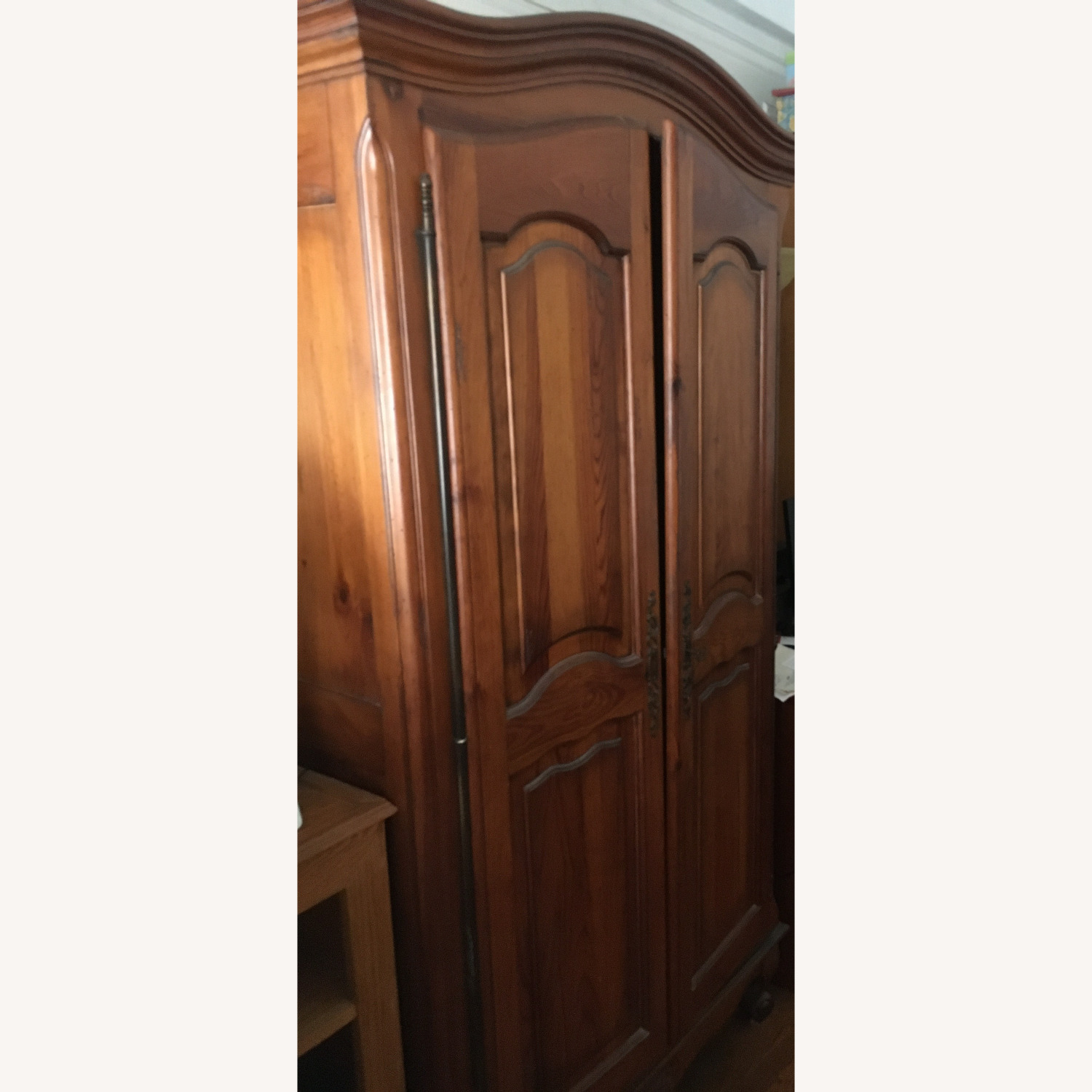ABC Carpet and Home Wooden Armoire - image-2