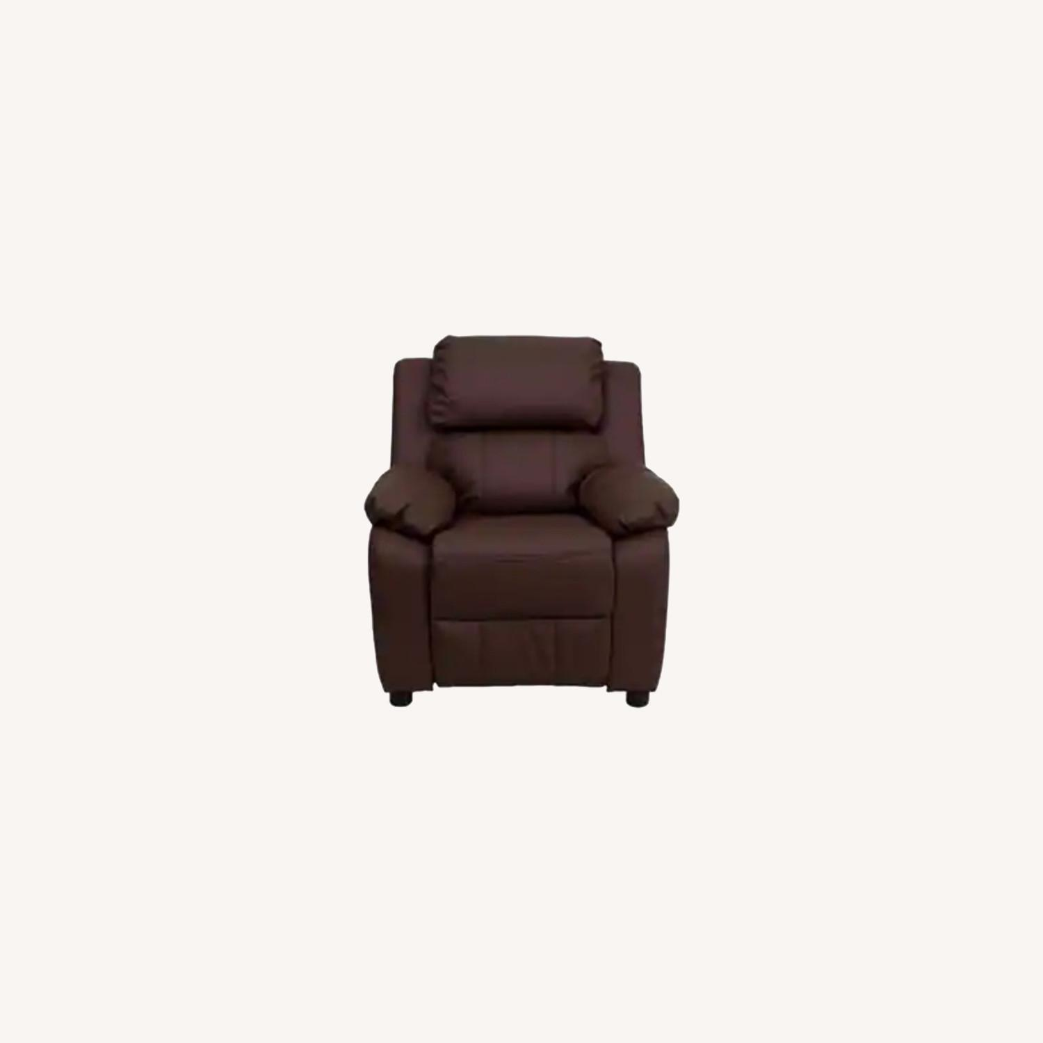 Wayfair Kids Leather Recliner - image-0