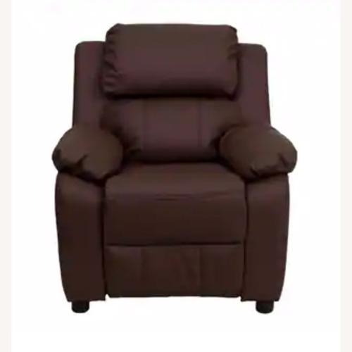 Used Wayfair Kids Leather Recliner for sale on AptDeco