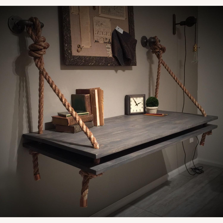 Wall Desk, Computer Desk, Vanity , Console table - image-3