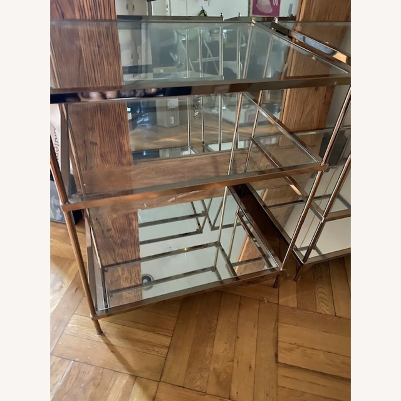 Wayfair Metallic & Glass Nightstands - Set of 2 - image-4