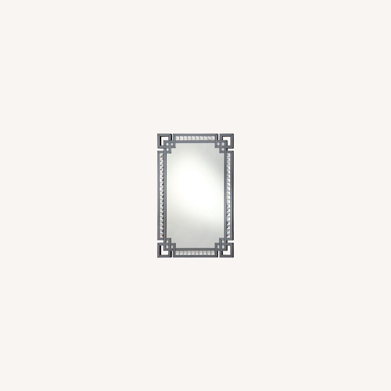 Rectangle Mirror w/ Decorative Border - image-3