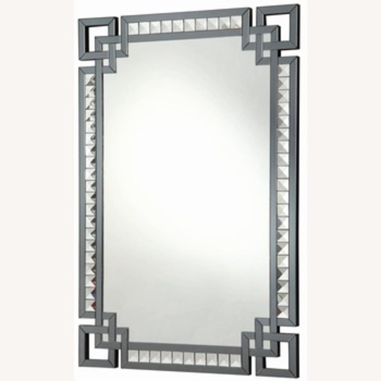 Rectangle Mirror w/ Decorative Border - image-2