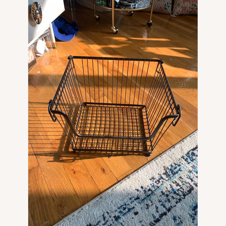 mDesign Stackable Storage Baskets - image-4