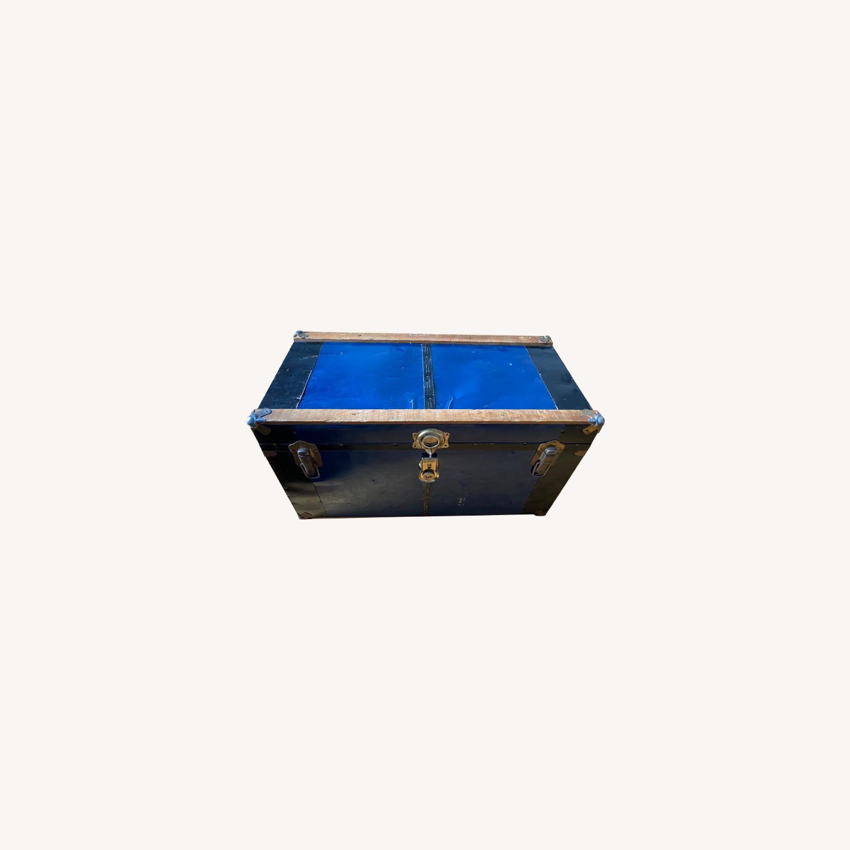 Vintage Storage Trunk/ Coffee Table - image-0
