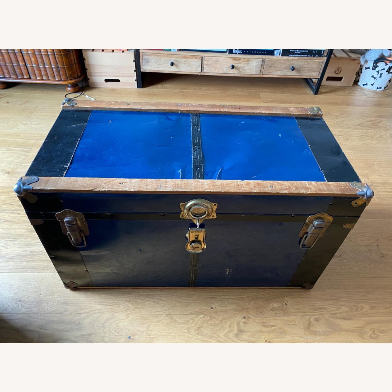 Vintage Storage Trunk/ Coffee Table - image-1