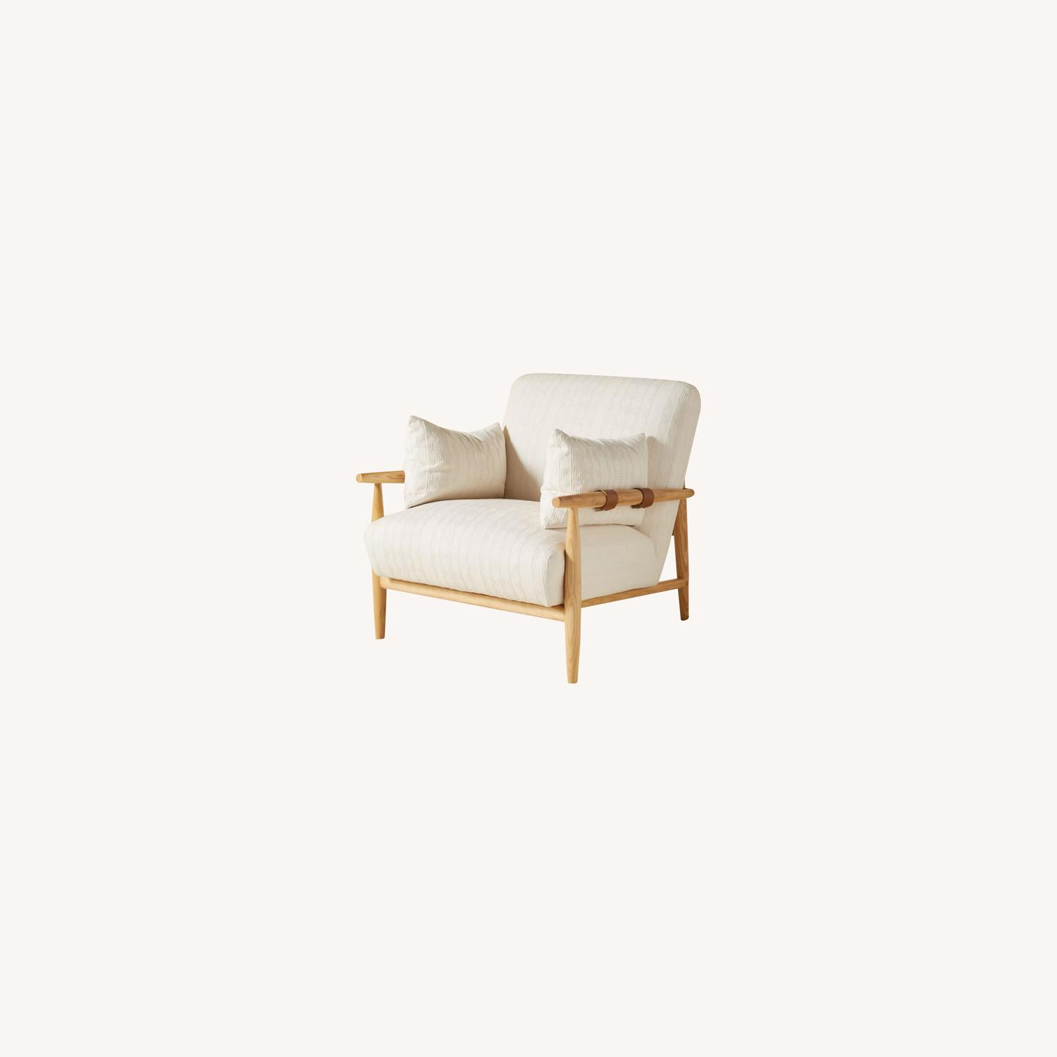 Anthropologie Kershaw Accent Chairs - image-0