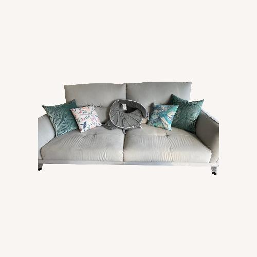 Used Roche Bobois Silver Itineraire Sofa for sale on AptDeco
