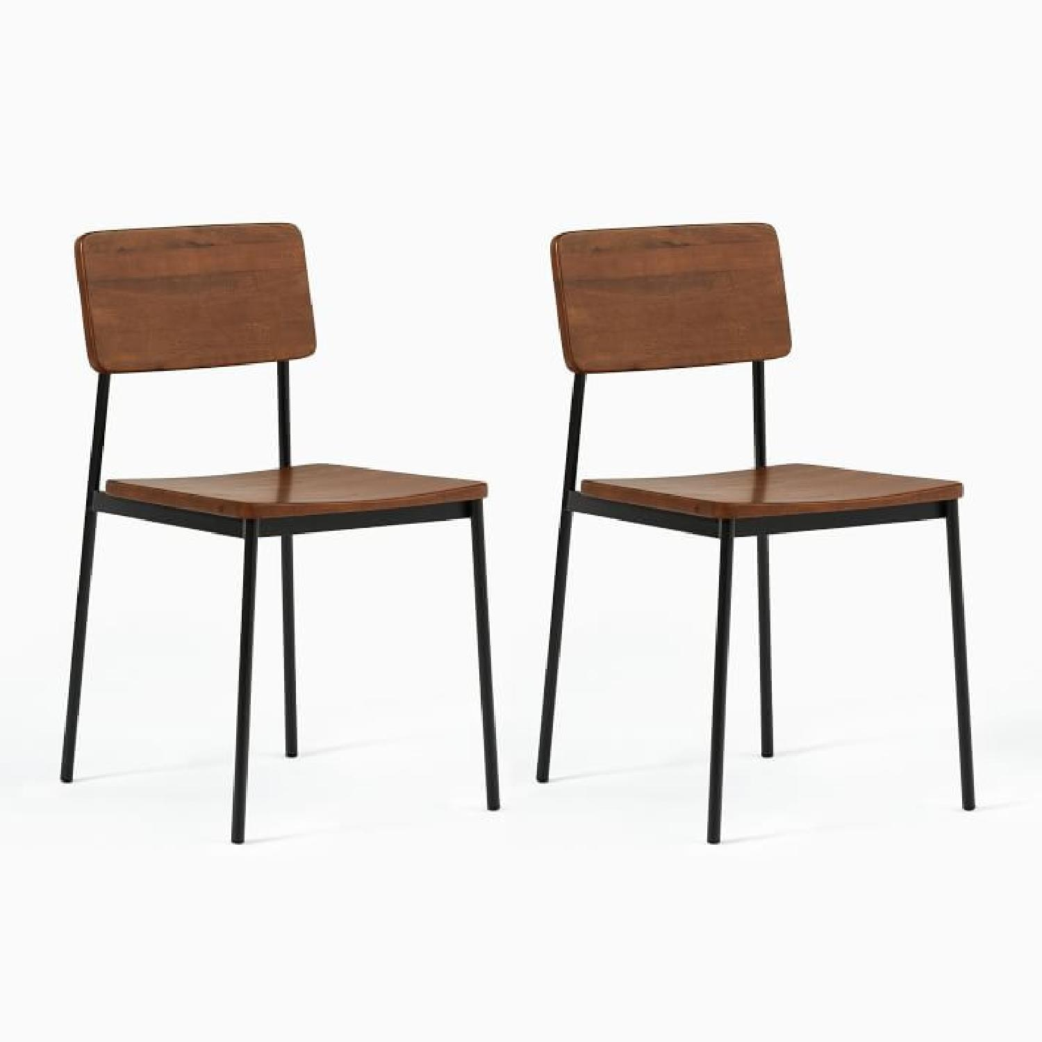 West Elm Augusta Rustic Dining Chairs (Set of 2) - image-5