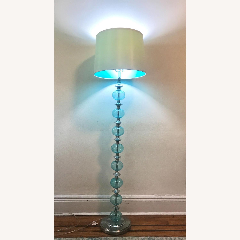 Wayfair Glass Ball Floor Lamp - image-3
