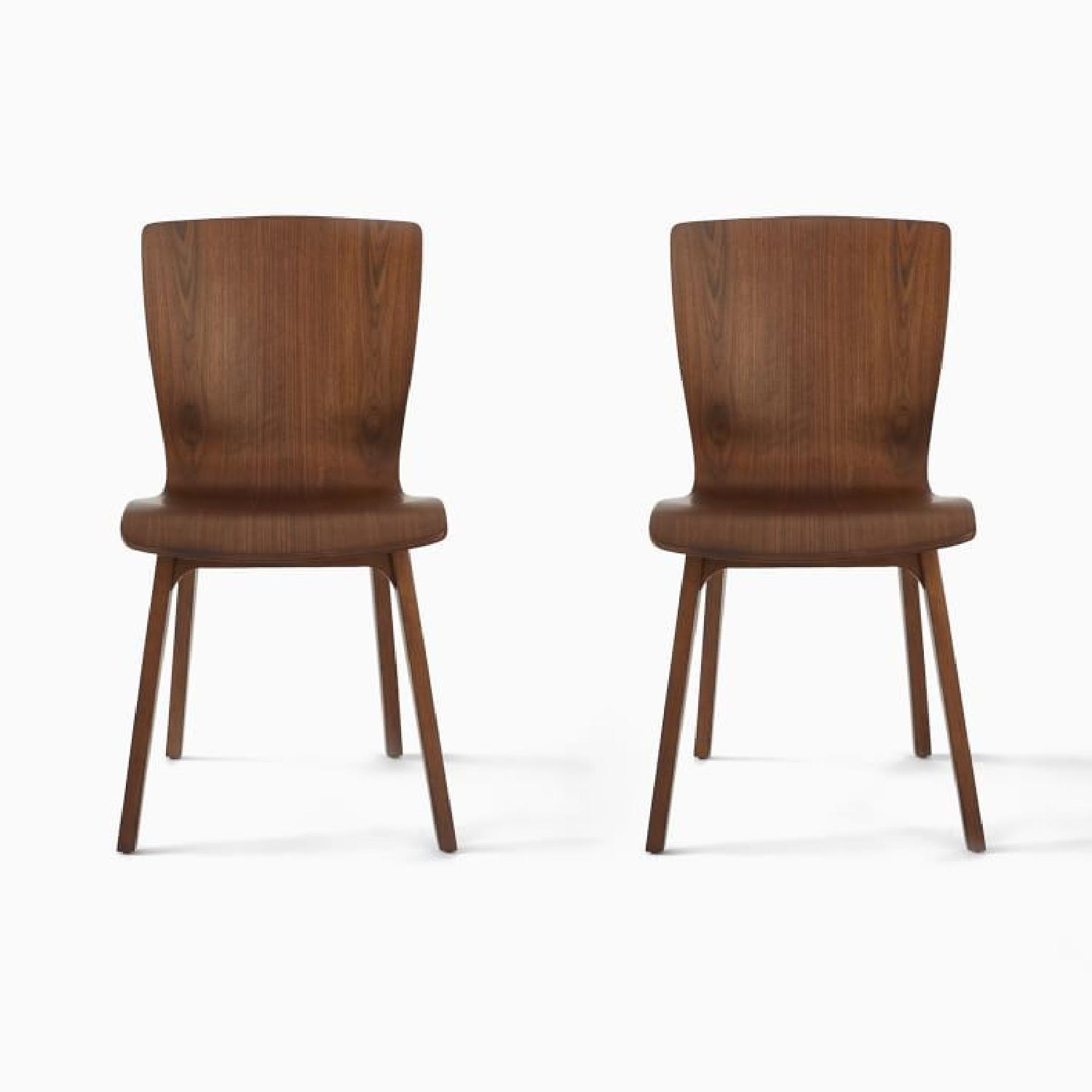 West Elm Crest Bentwood Dining Chairs (Set of 2) - image-6