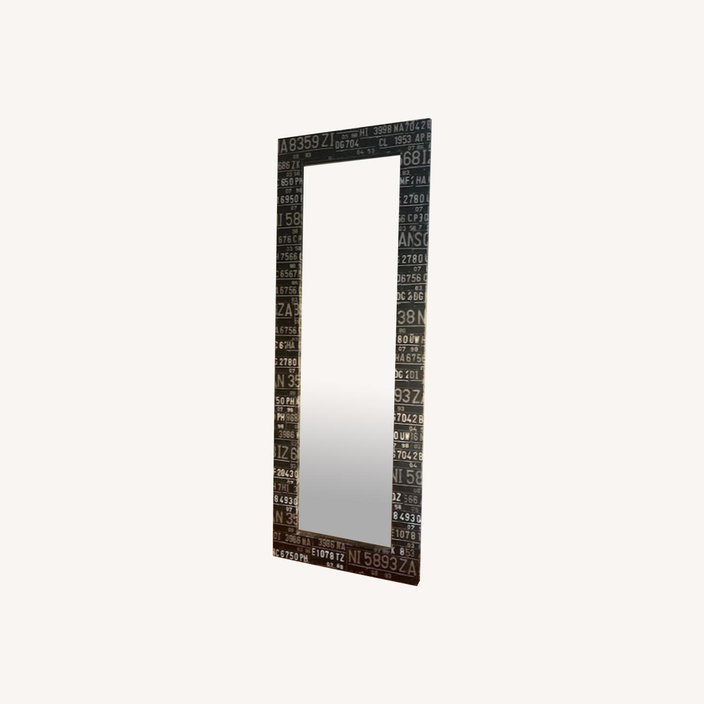 Industrial Floor-Length Mirror - image-0