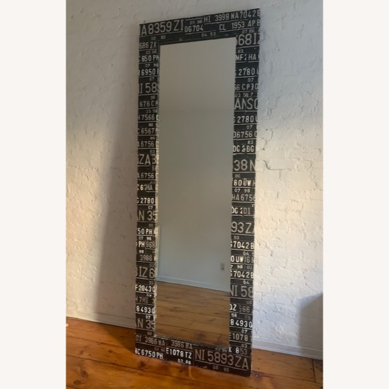 Industrial Floor-Length Mirror - image-1