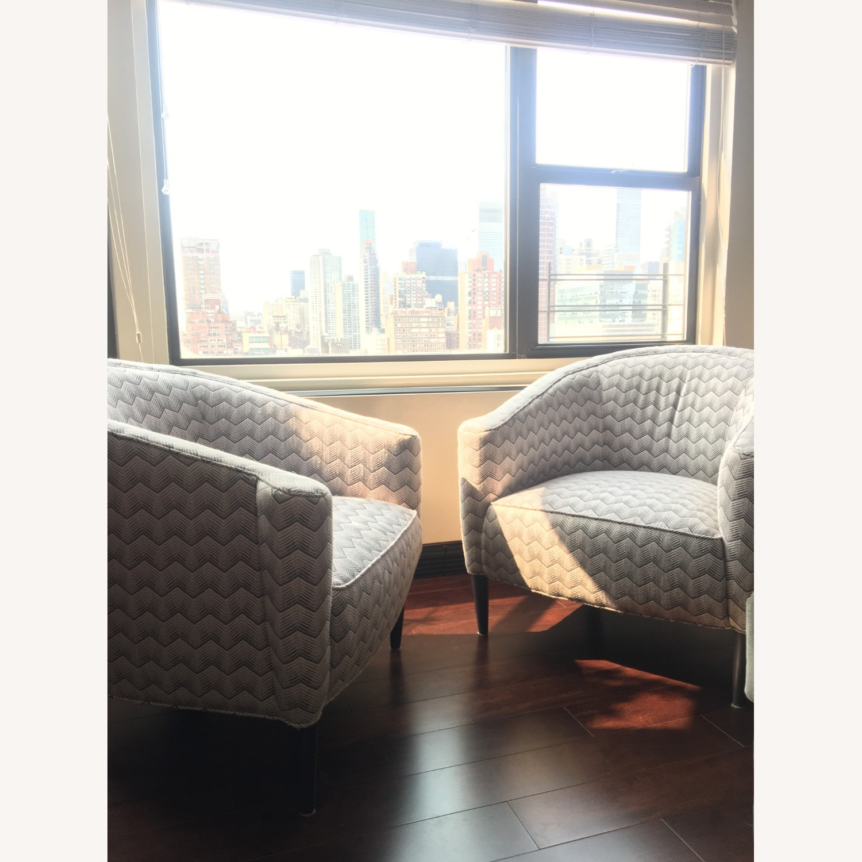 Sotheby Barrel Chair CR Laine - Set - image-5