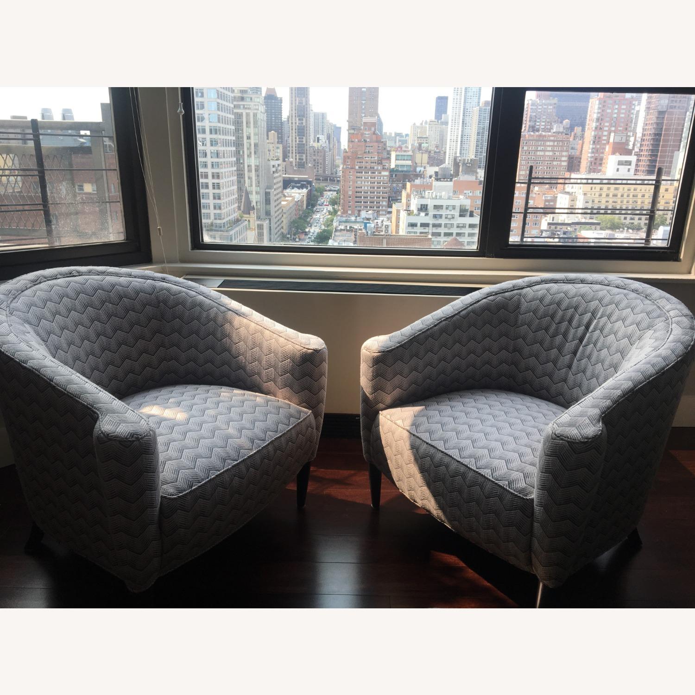 Sotheby Barrel Chair CR Laine - Set - image-1