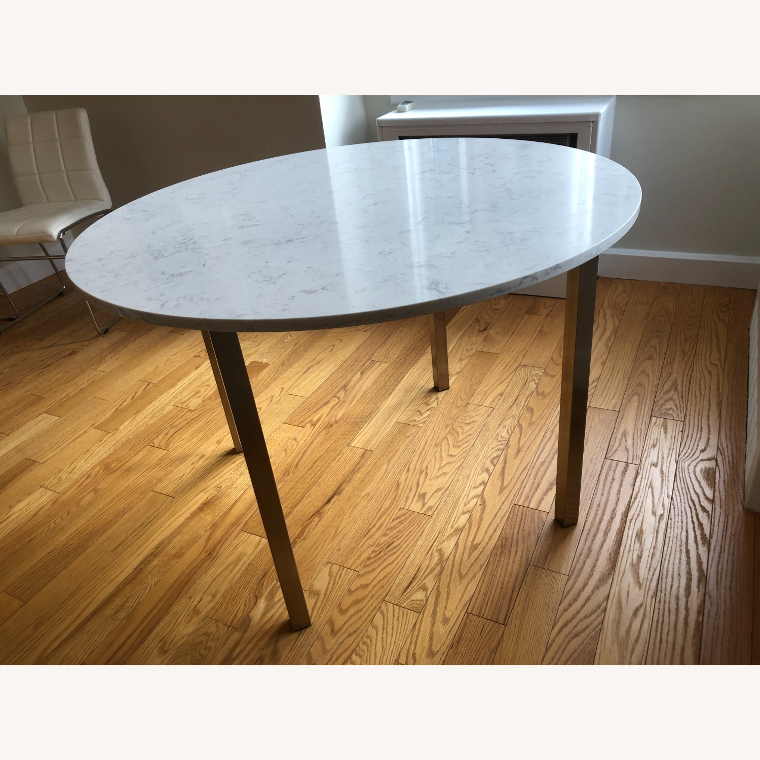 Room & Board Round Dining Table - image-1