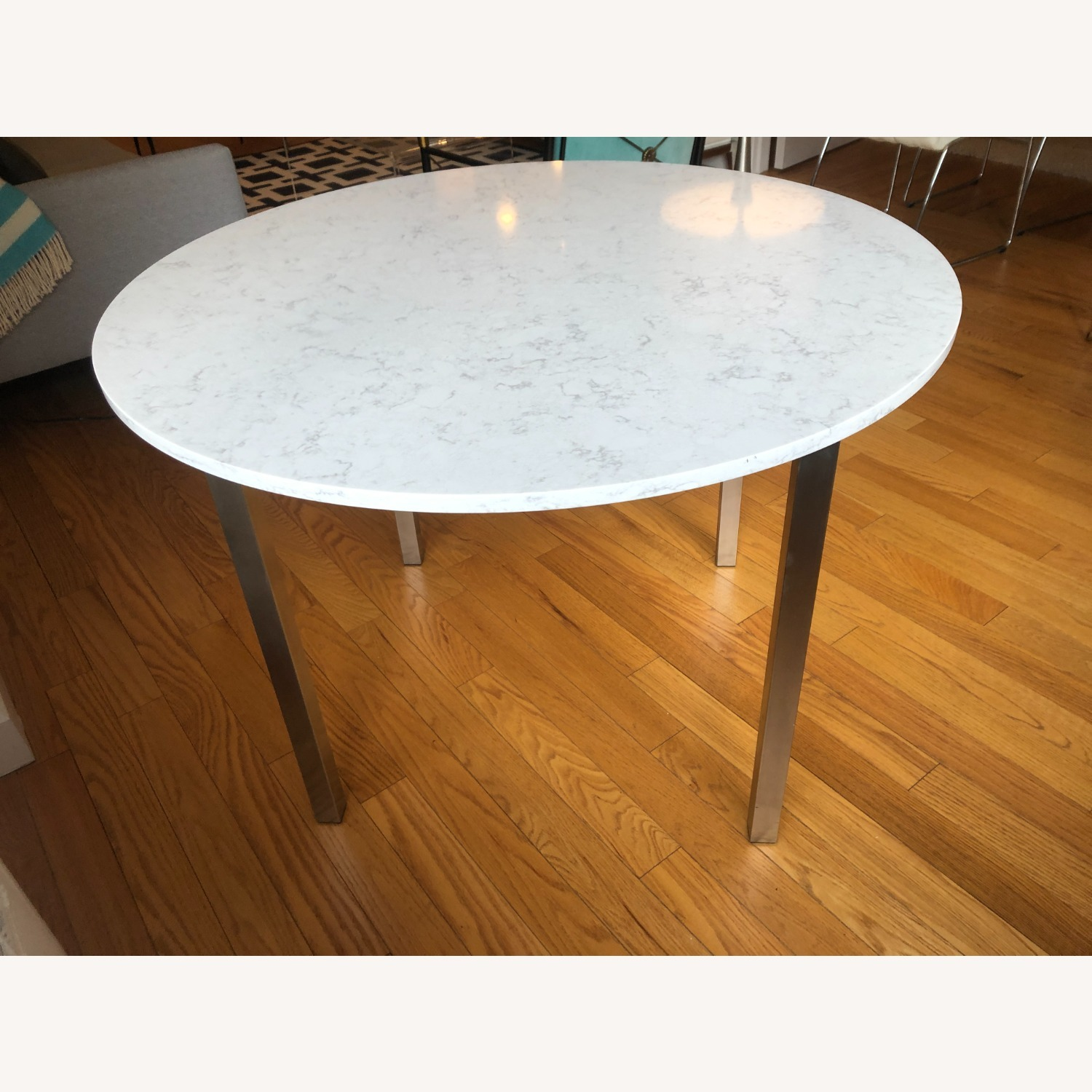 Room & Board Round Dining Table - image-3