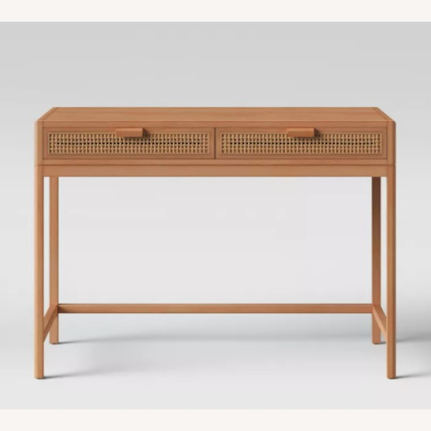 Target Opalhouse Writing Desk with Drawers Brown - image-1