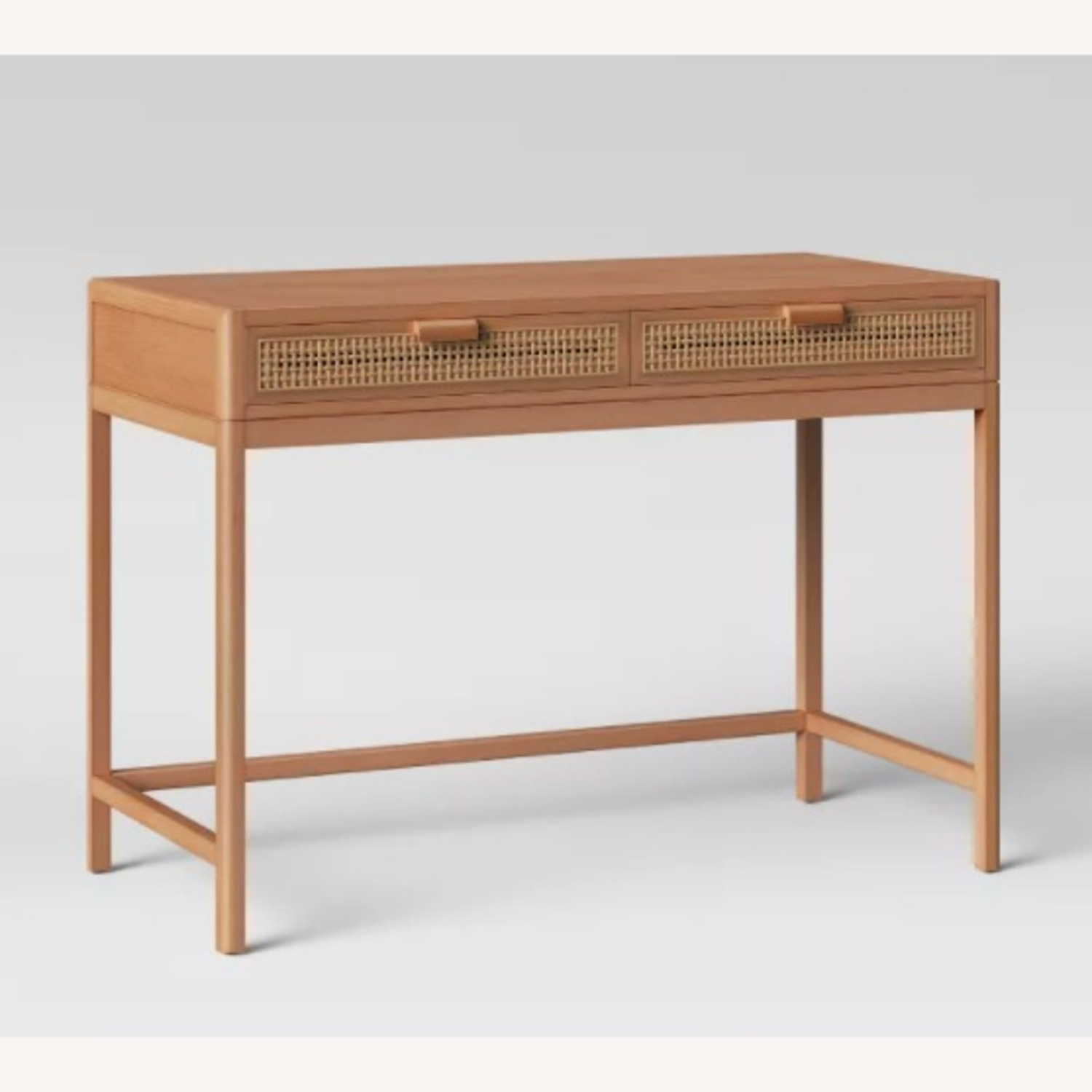 Target Opalhouse Writing Desk with Drawers Brown - image-3