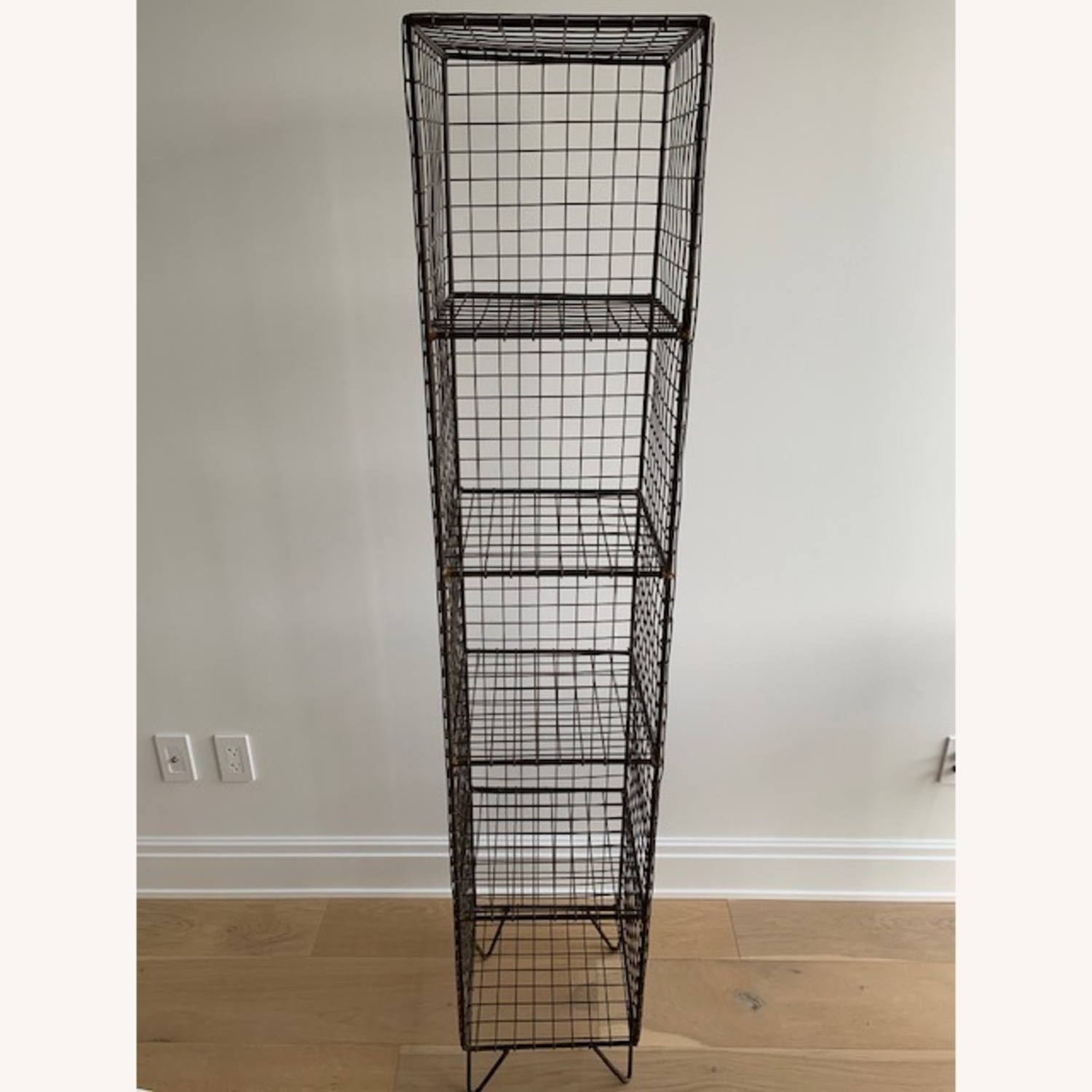 CB2 Coop Wire Tower Bookcase Shelves - image-1