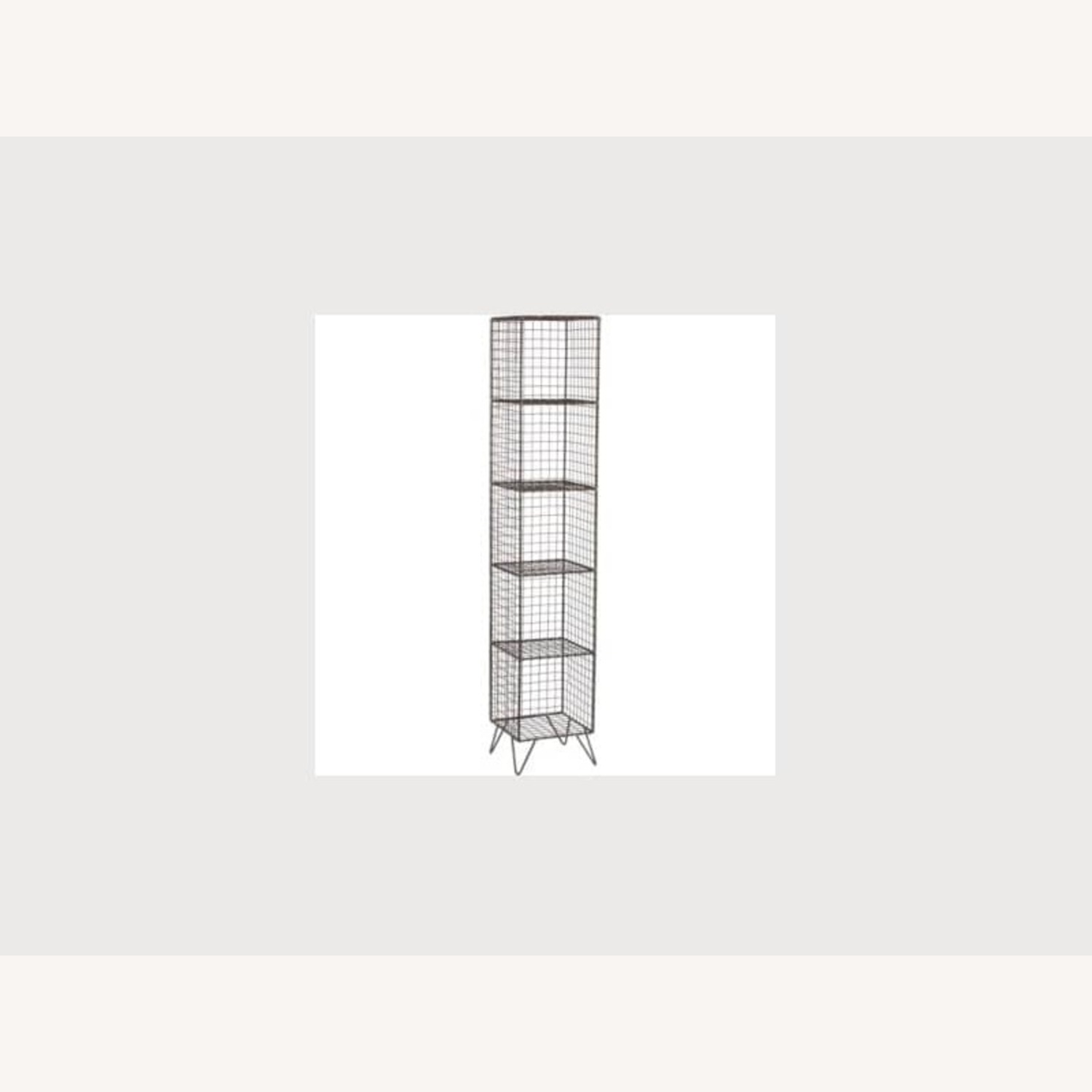 CB2 Coop Wire Tower Bookcase Shelves - image-2
