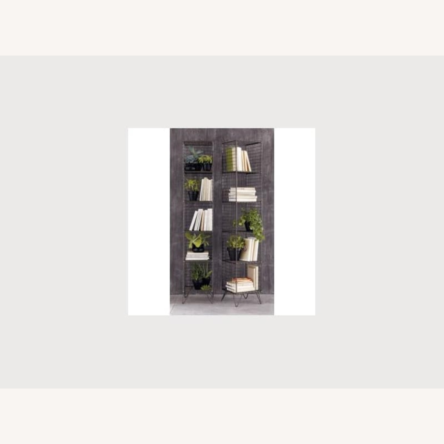 CB2 Coop Wire Tower Bookcase Shelves - image-3