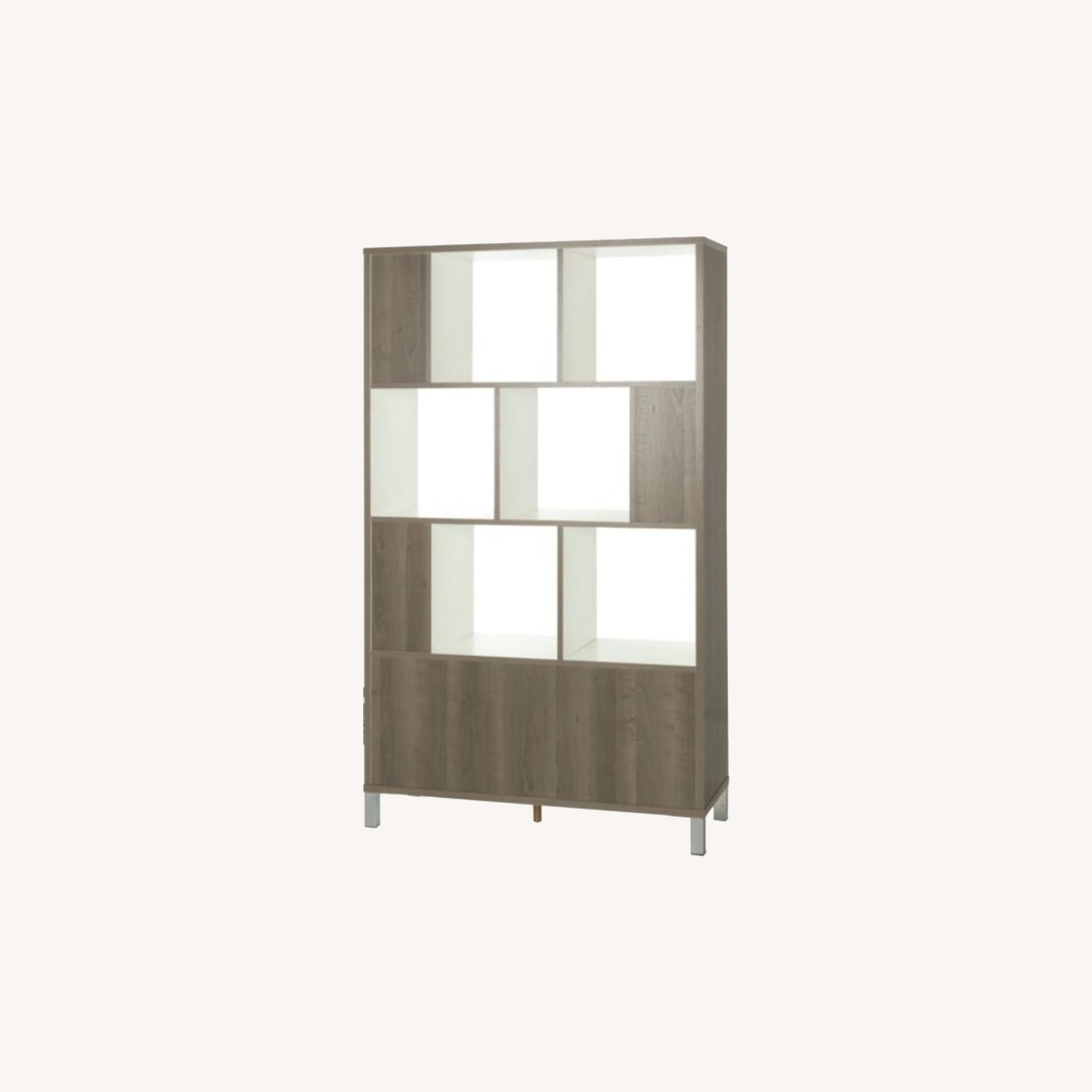 South Shore Expoz 9-Cube Shelving Unit With Doors - image-0