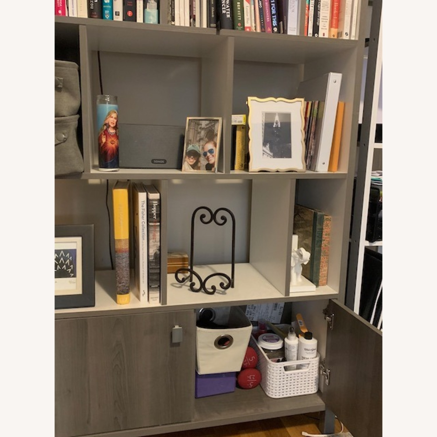South Shore Expoz 9-Cube Shelving Unit With Doors - image-3