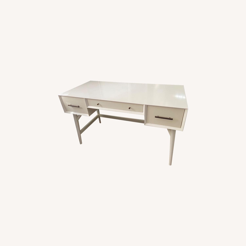 West Elm Mid Century Desk - image-0