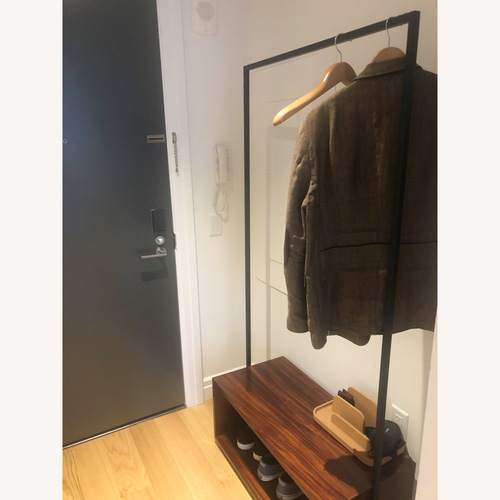 Used CB2 Entryway Armoire for sale on AptDeco