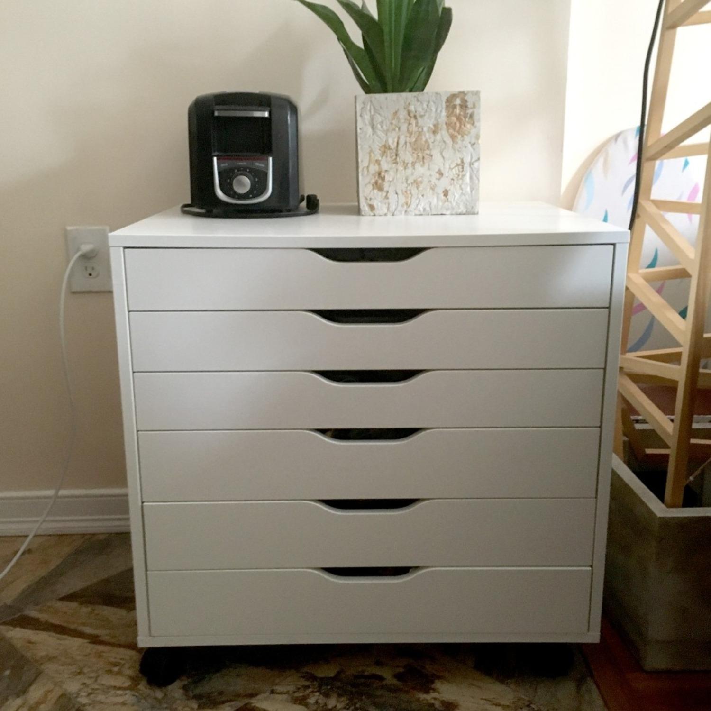 IKEA Alex Six Drawer Cabinet - image-3