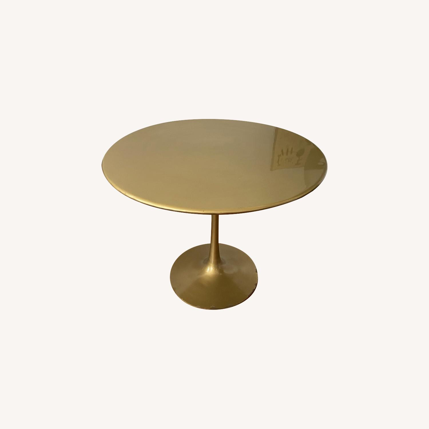 Tulip Bronze Dining Table - image-0