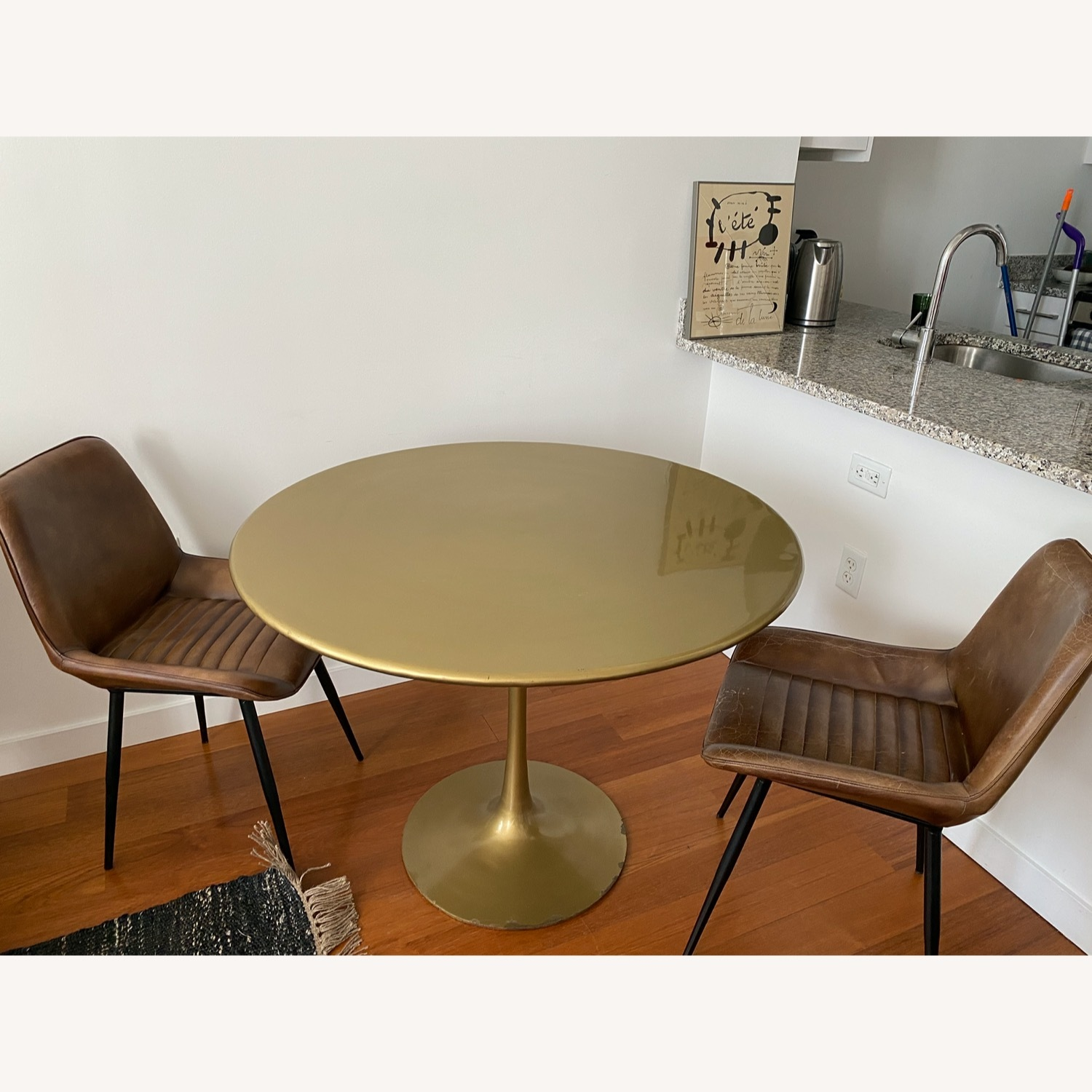 Tulip Bronze Dining Table - image-1