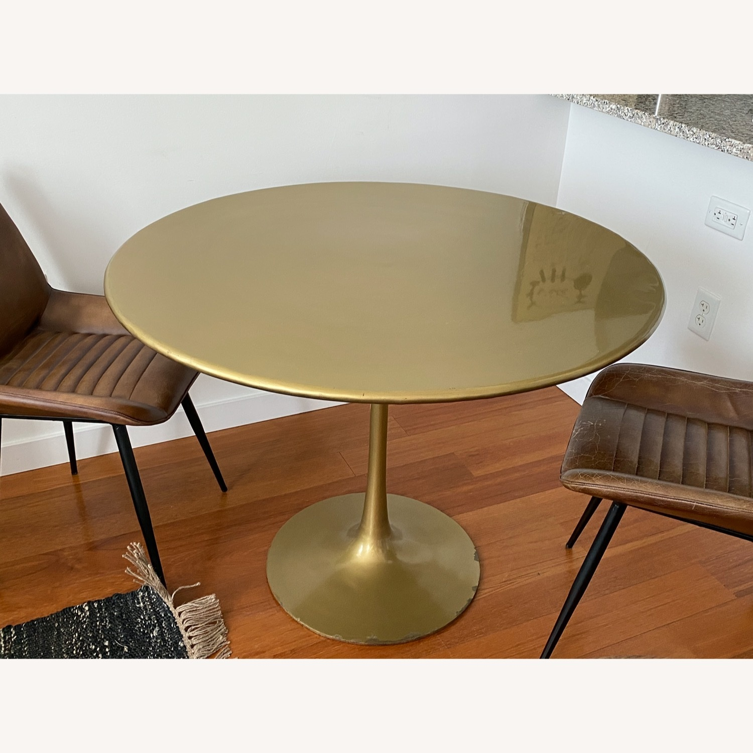 Tulip Bronze Dining Table - image-2