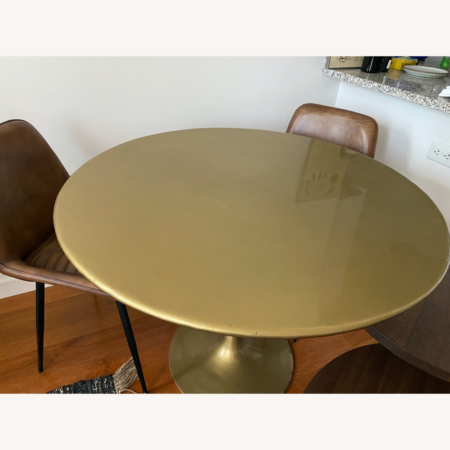 Tulip Bronze Dining Table - image-3