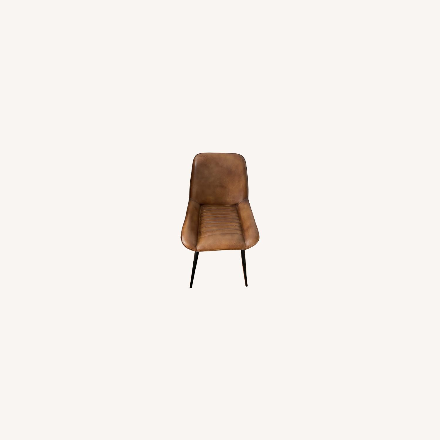 Atlas Leather Dining Chairs - image-0