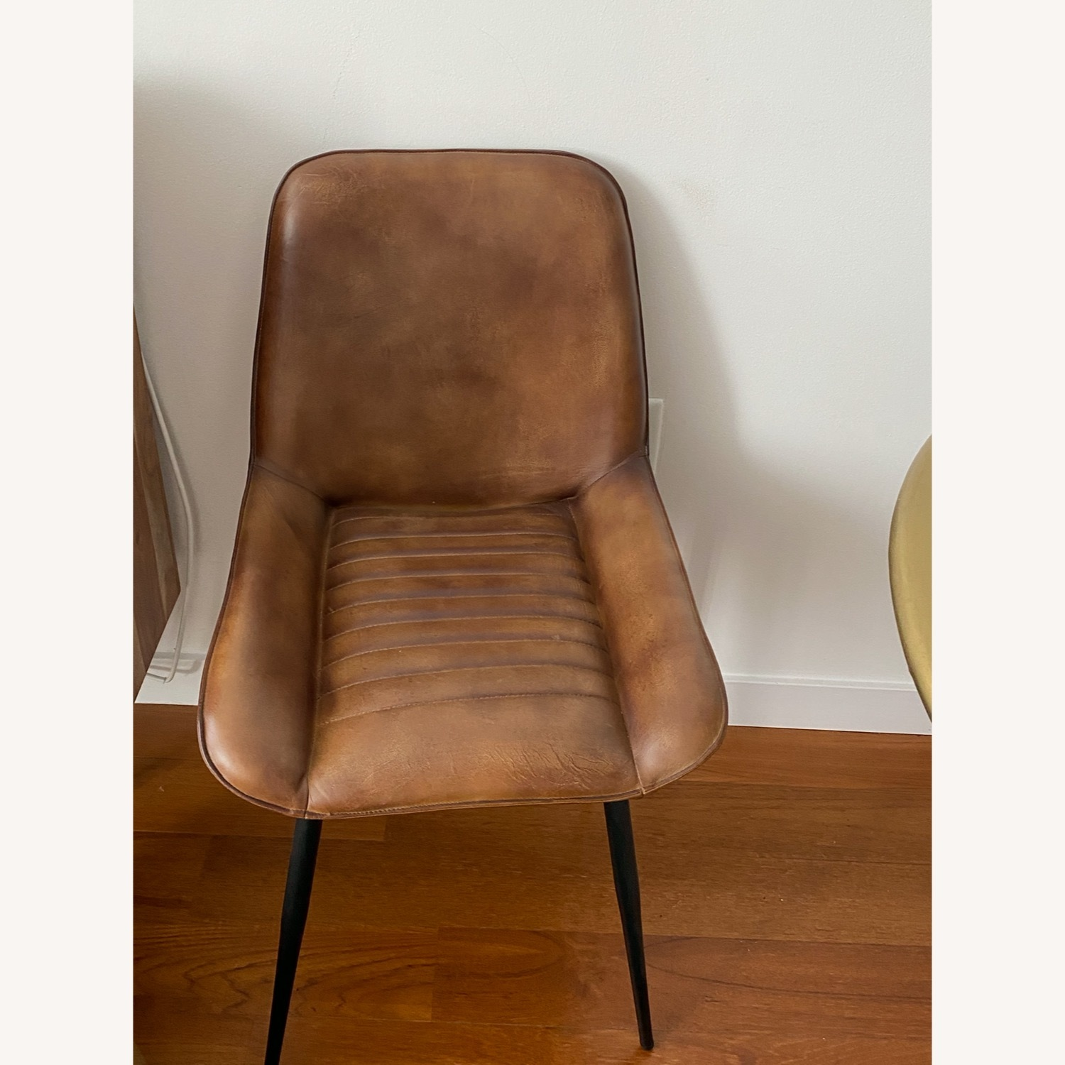 Atlas Leather Dining Chairs - image-1