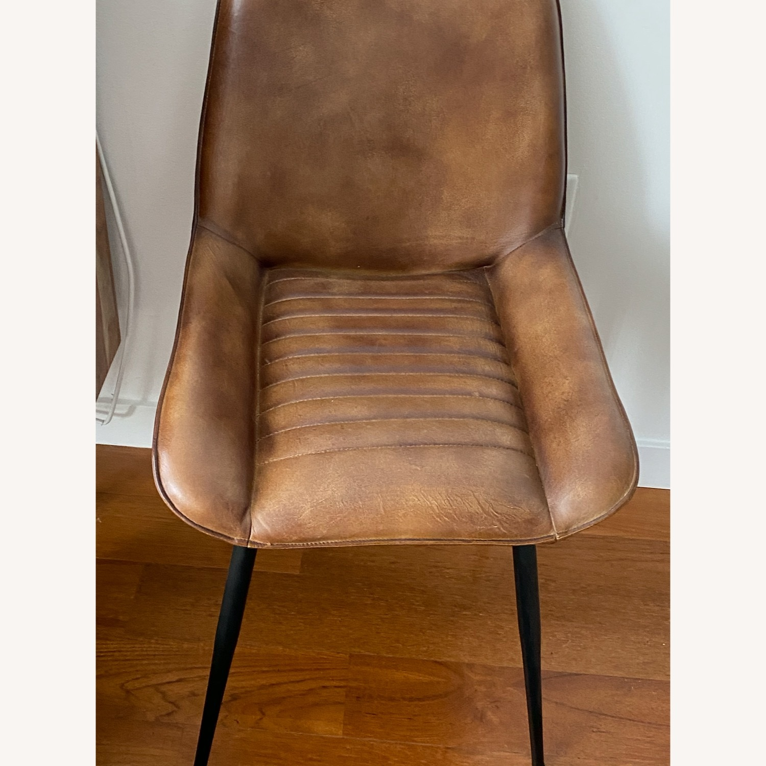 Atlas Leather Dining Chairs - image-3