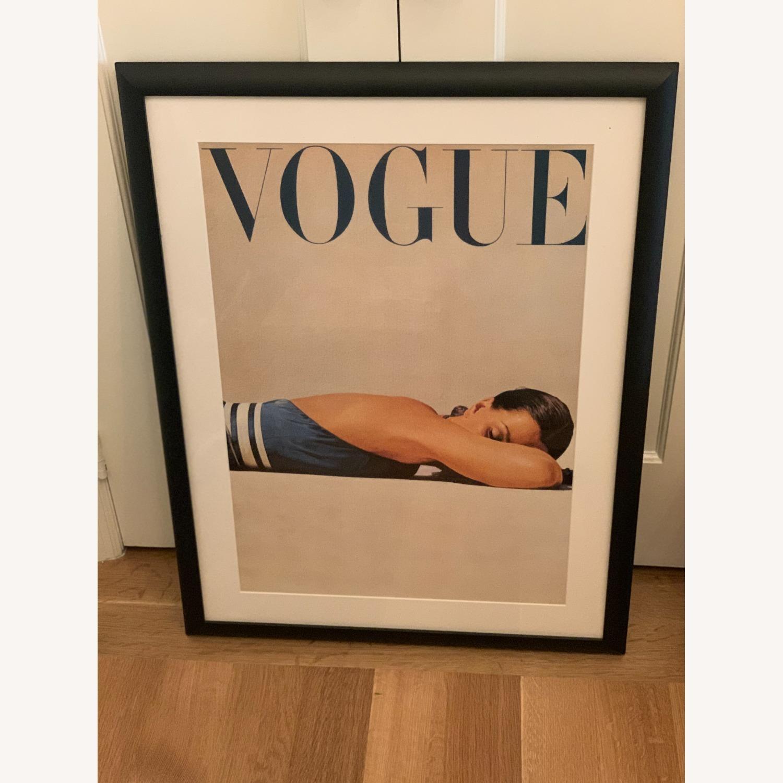 Framed Vintage Vogue Cover Poster - image-1