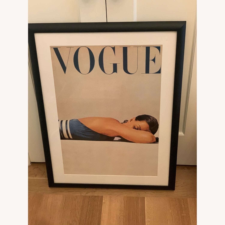 Framed Vintage Vogue Cover Poster - image-3