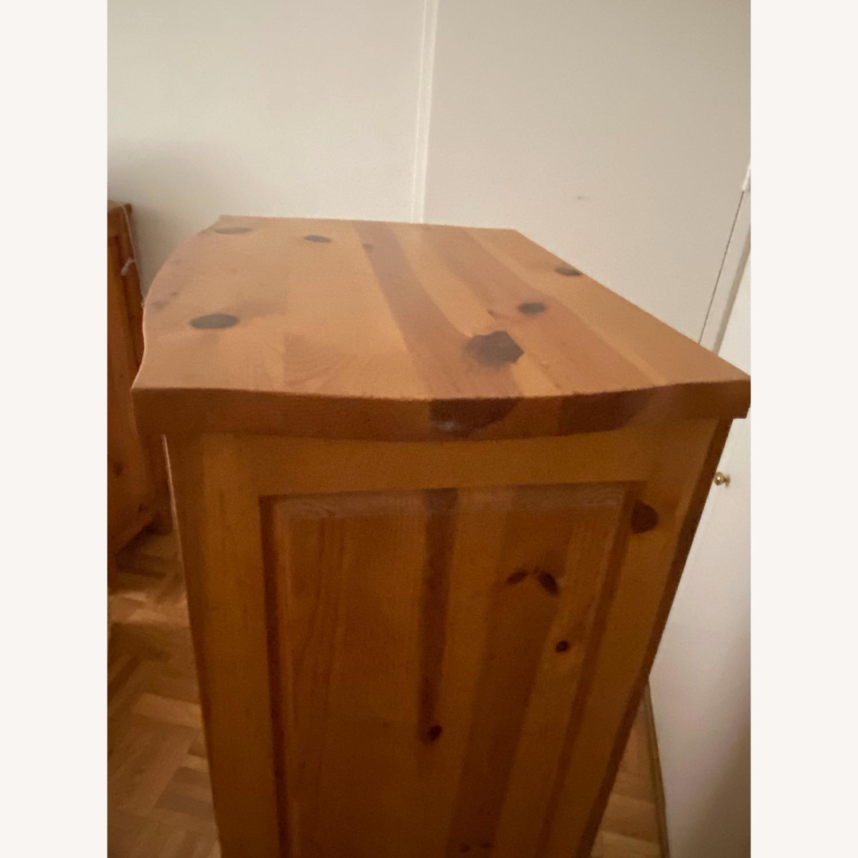 Belle Reve Natural Wood 7-Drawer Lingerie Dresser - image-3