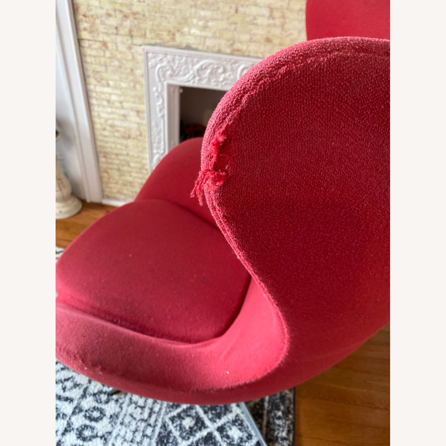 Fritz Hanson Egg Chair and footstool - image-4