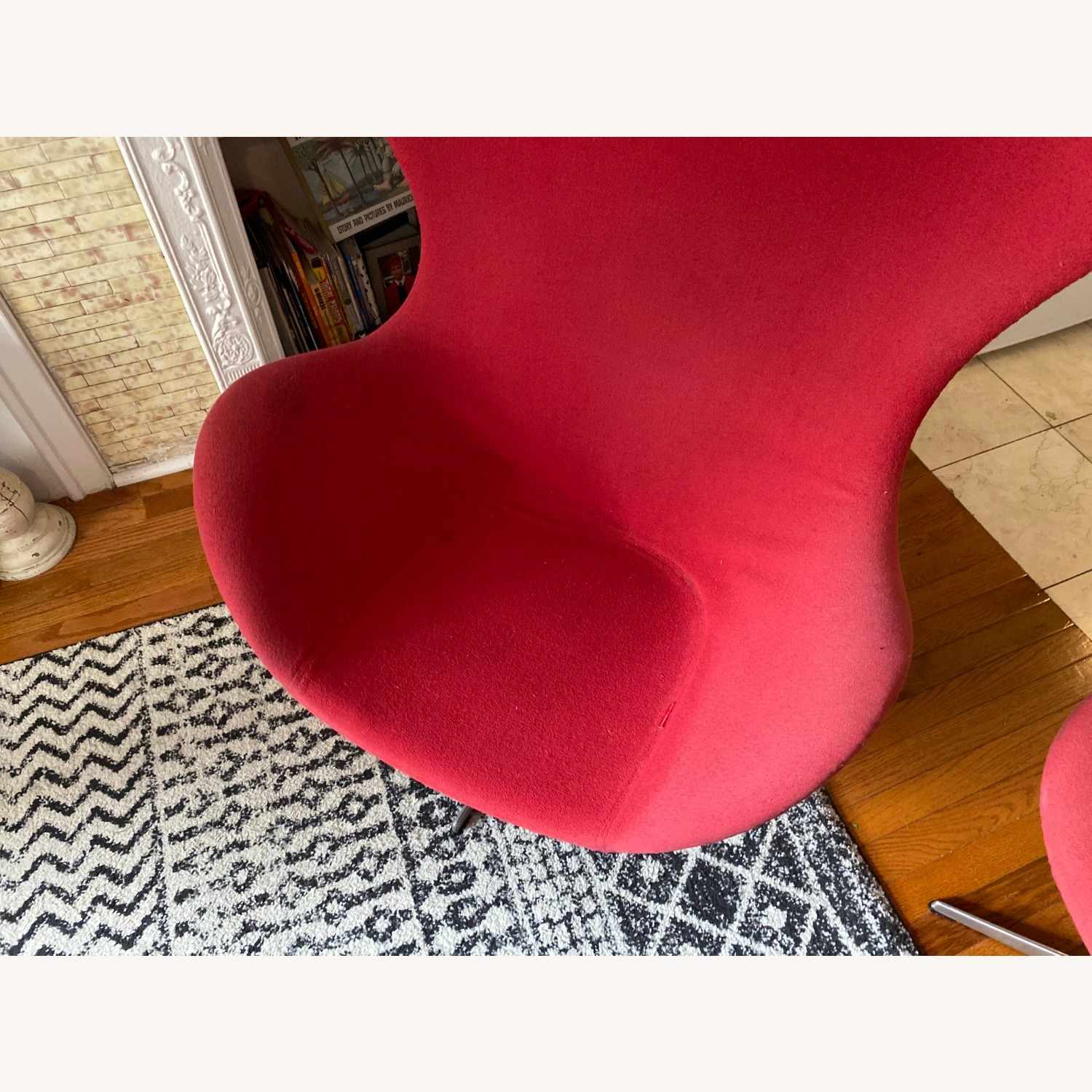 Fritz Hanson Egg Chair and footstool - image-12