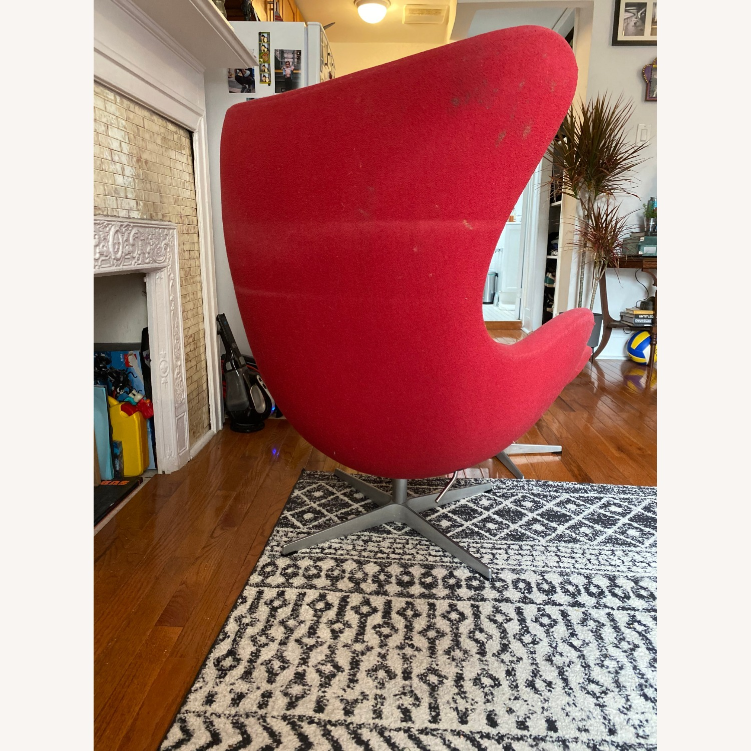 Fritz Hanson Egg Chair and footstool - image-5
