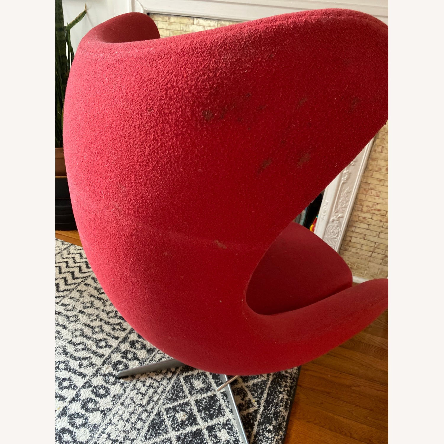 Fritz Hanson Egg Chair and footstool - image-7
